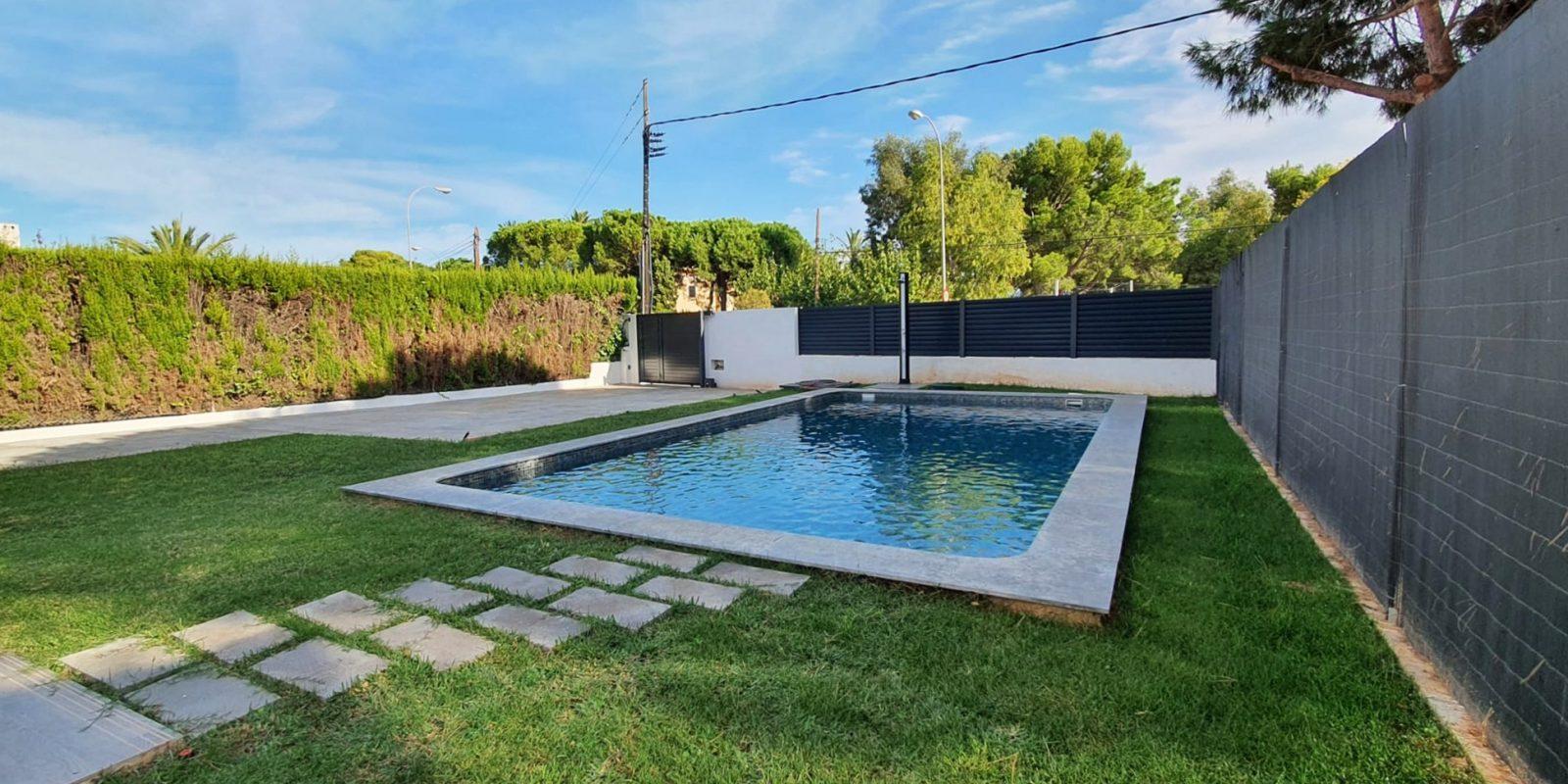 Rehabilitación piscina Benicasim