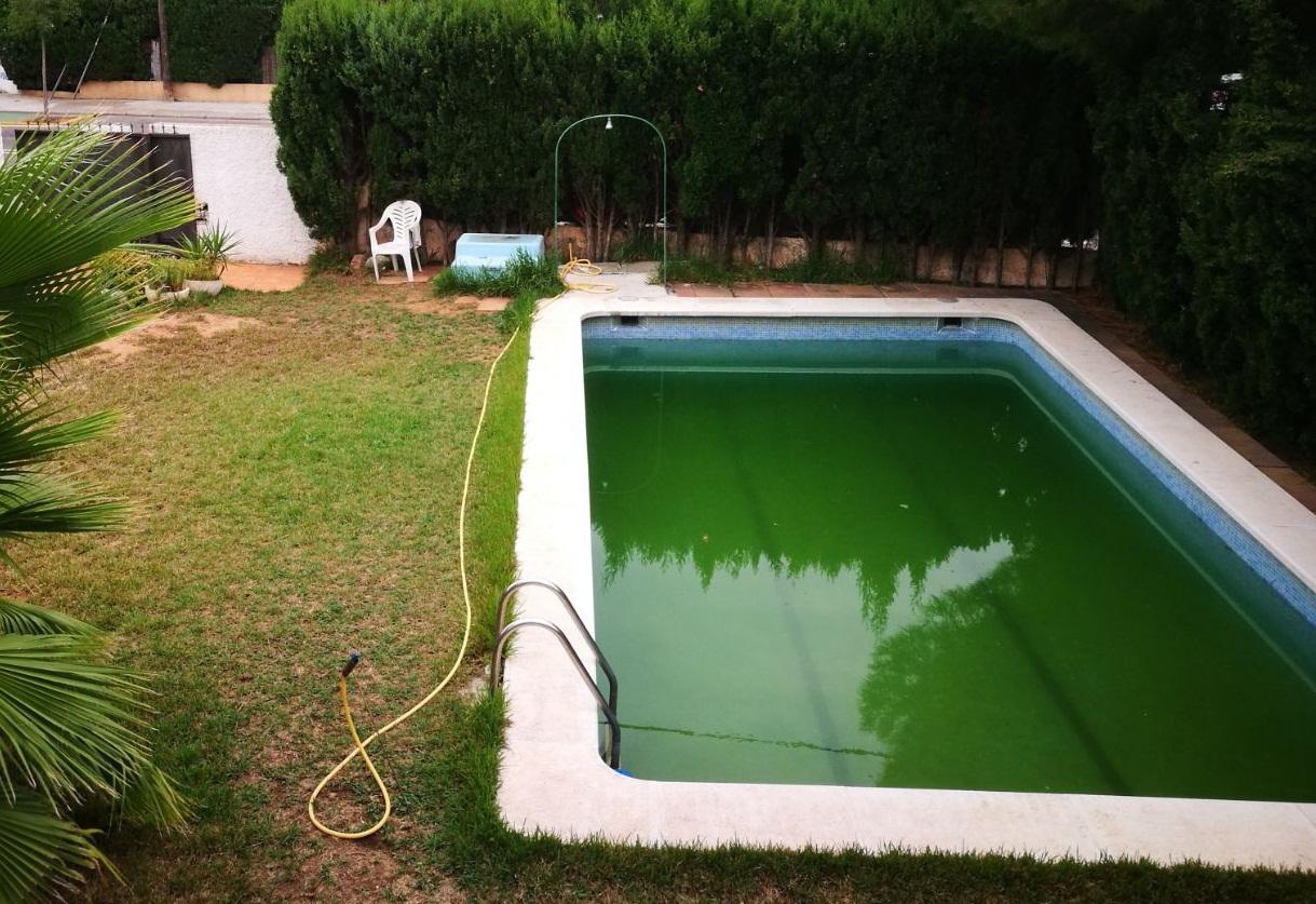 Rehabilitación de piscina en Benicasim